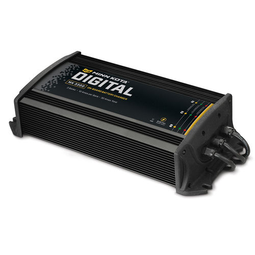 Minn Kota On Board Digital Charger MK 330D 3 Bank 10 Amps Per Bank